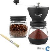 Handmatige Koffiemolen - Koffiemaler & Bonenmaler - Coffe Grinder - Zwart