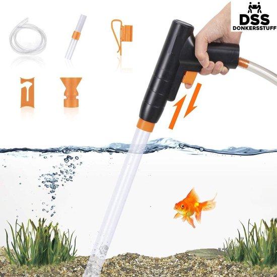 Donkersstuff - Aquarium Stofzuiger - Bodemreiniger - Aquariumstofzuiger - Aquarium Reiniging en Schoonmaken - Werkt zonder batterijen/stroom