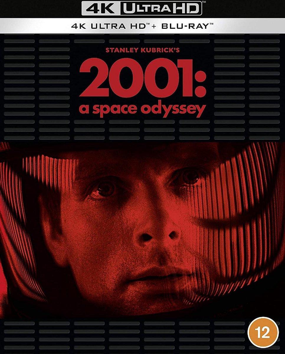 2001 A Space Odyssey [1968] [4K Ultra HD + Blu-ray] [Region Free]-
