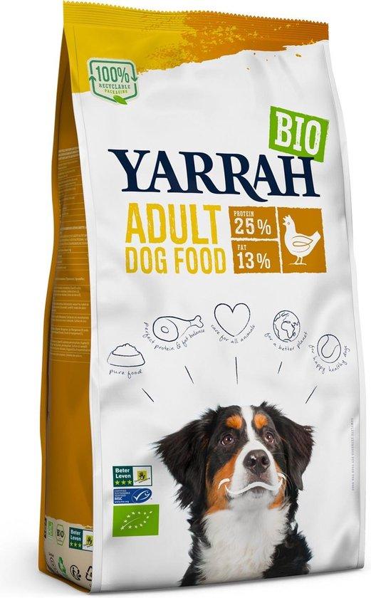 Yarrah Biologisch - Kip - Hondenvoer - 10 kg