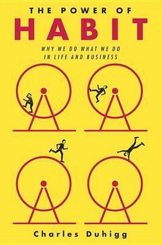 Boek cover The Power of Habit van Charles Duhigg (Hardcover)