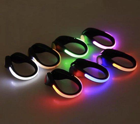 Waarschuwingslampje / sport verlichting/ hardloop verlichting / Sportarmband/ wandel verlichting / schoen clip/ enkelband verlichting / veiligheidsband