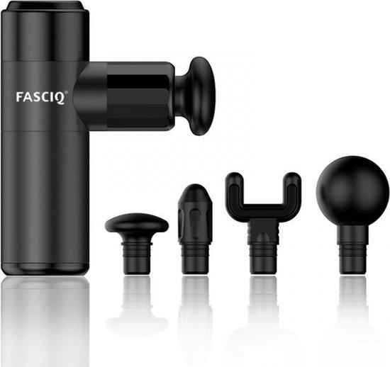 FASCIQ Massage Gun Mini - dé krachtpatser onder de massage guns - handzaam zonder verlies van power.