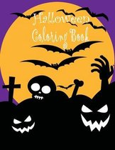 Halloween coloring book: Halloween coloring books for kids ages 4-8