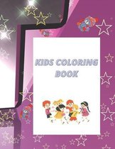 Kids coloring book: coloring book for kids ages 4-8 100 pages
