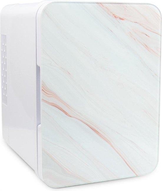 Koelkast: Marbor FW214 Pro - Mini Beauty Fridge - Skincare - 4 Liter - Wooden / Natuursteen, van het merk Marbor