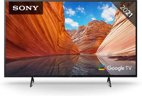 Sony BRAVIA KD43X80J - 43-inch TV - 4K Ultra HD - Google Smart TV