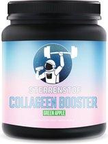 Sterrenstof Collageen poeder - Met Hyaluronzuur + vitamine C - Gezonde huid, haar en nagels - Groene appel - 300 gram