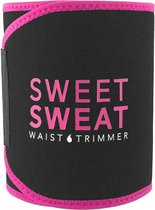 Sweet Sweat Waist Trimmer - Waist Trainer - Afslankband - Waist Shaper - Sauna Belt Roze | Size: Large