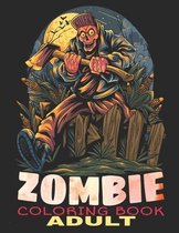 Adult Coloring Book Zombie