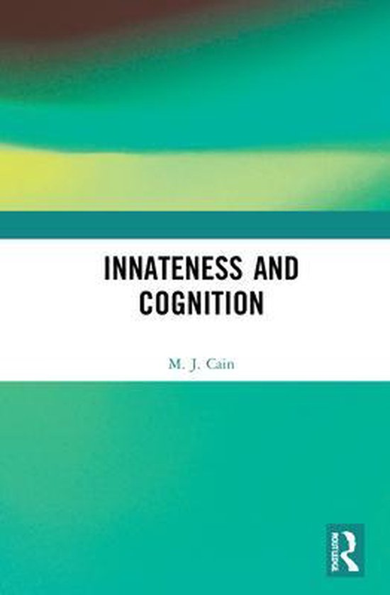 Boek cover Innateness and Cognition van Mark Cain (Hardcover)