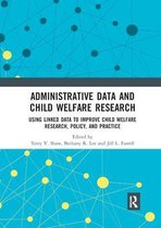 Omslag Administrative Data and Child Welfare Research
