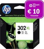HP 302XL - Inktcartridge zwart + Instant Ink tegoed