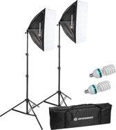 Bresser Fotostudioset - BR220A  - Continulicht incl. Daglichtlampen