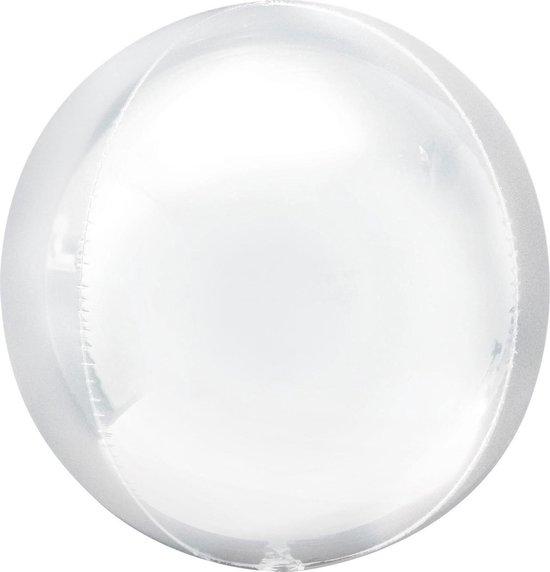 Boland Led-ballonnen 23 Cm Zilver 5 Stuks