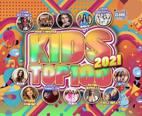 CD cover van Kids Top 100 - 2021 van Kids Top 100