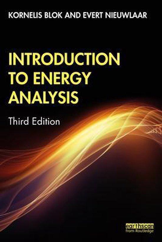 Boek cover Introduction to Energy Analysis van Kornelis Blok (Paperback)