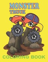 Monster Truck: coloring book for kids ages 4-8 boys, Kids Coloring Book with Monster Trucks, Coloring Book