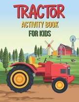 Tractor Activity Book For Kids