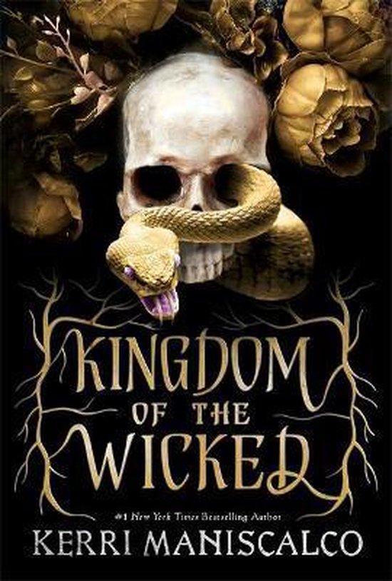Boek cover Kingdom of the Wicked van Kerri Maniscalco (Paperback)