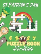 ST Patrick's Day Easy Puzzle Book For Kids: Fun Kid Workbook Game For Learning, Activity Book for Little Boys And Girls