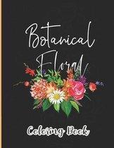 Botanical Floral Coloring Book