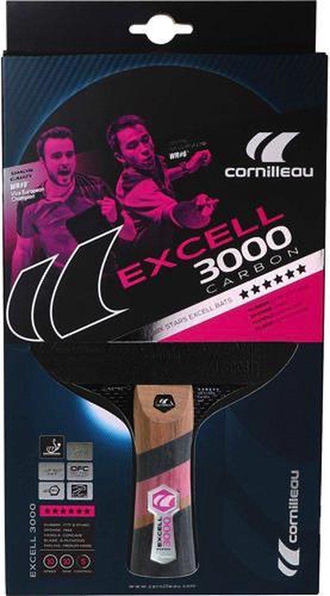 Tafeltennisbat Excell 3000 Carbon - Cornilleau