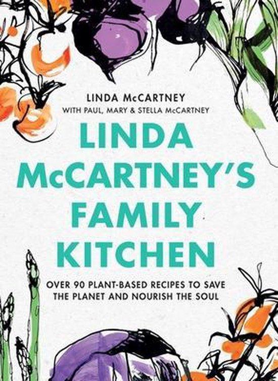 Boek cover Linda McCartneys Family Kitchen van Linda Mccartney (Hardcover)
