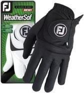 Footjoy Weathersof heren golf handschoen Links zwart Heren M