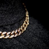 ICED OUT Goude Cuban Chain - Cuban Ketting - 15mm - 20 inch / 50 cm