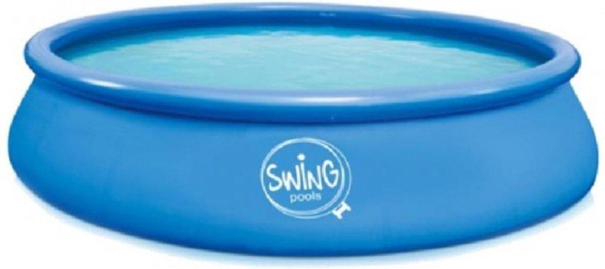 Swing opblaaszwembad 4,57x1,22