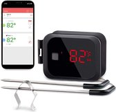 Draadloze BBQ Thermometer - Barbecue Vleesthermometer - Bluetooth Met App - Kernthermometer