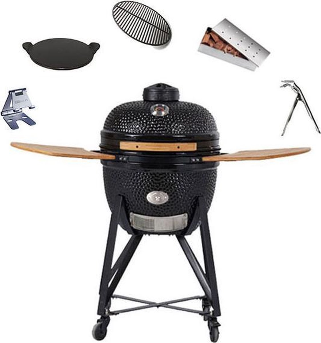 Kamado BBQ Set Comfort Grill Care - Serie 2021 - 44 cm kookvlak