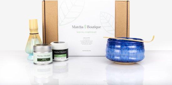 Matcha Set Deluxe (5-delig) - Belgische Start-up - Matcha Starter Kit Blauw -...