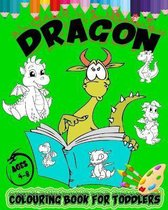 Dragon Colouring Book For Toddlers Ages 4-8