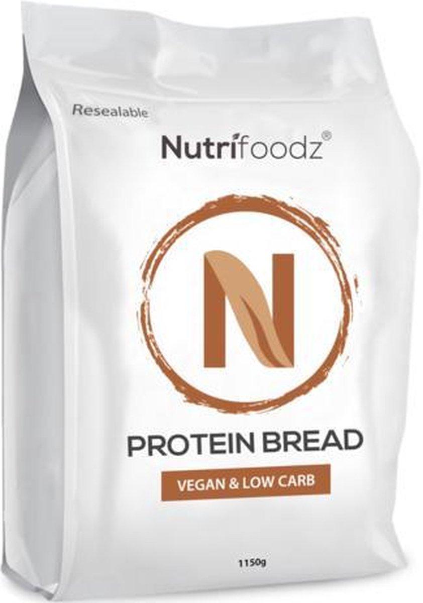 Nutrifoodz  Protein Bread - Koolhydraatarm brood - 100% Vegan - 5 broden - Low Carb - High protein