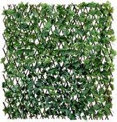 Klimop kunsthaag | Uitschuifbaar | - kunsthaag - kunsthaag voor buiten - kunsthaag tuinscherm - kunsthaag klimop