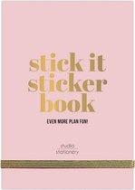 Studio Stationery - Planner Stick It Stickerbook - Roze