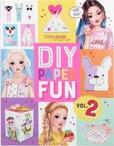 Top Model Knutselboek Junior 27,5 X 21,5 Papier/karton Roze