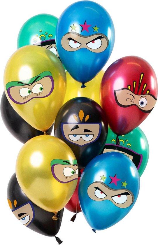 Superhelden Ballonnen 30cm 12st