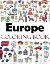 Europe Coloring Book