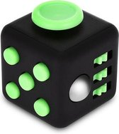 Fidget Cube tegen Stress  Groen - Fidget Toys - Stressbal - Speelgoed - Groen/zwart