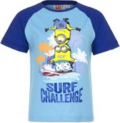 Minion t-shirt - Surf Challenge - blauw - maat 98 (3 jaar)