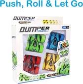 DUMPER TRUCK Speelgoed Auto 4 stuks - Jongens Speelgoed - Speel & Leer