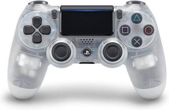 PS4 Controller Replacement Shell PRO V2 Grijs / Transparant