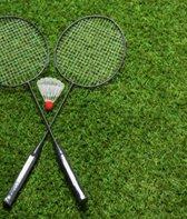 Badminton - Badminton set - 2 stuks inclusief shuttle - Tennis - Tennisracket - Racket - Professionele badminton set - PRO LINE - LIMITED EDITION