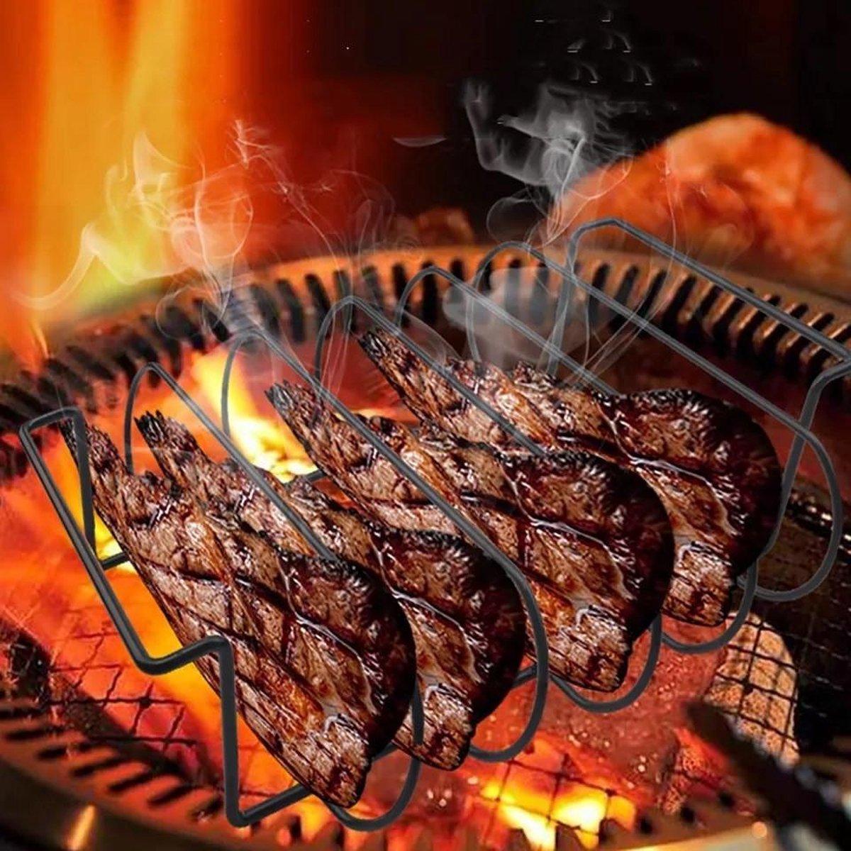 Sparerib rek - bbq rek vlees