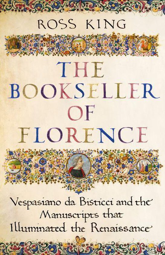 Boek cover The Bookseller of Florence van Dr Ross King (Onbekend)