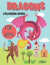Dragons Coloring Book for Boys