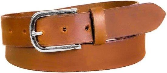 Dielay – Luxe Riem – Echt Leer / Leder – Totale Lengte 115 cm – Cognac